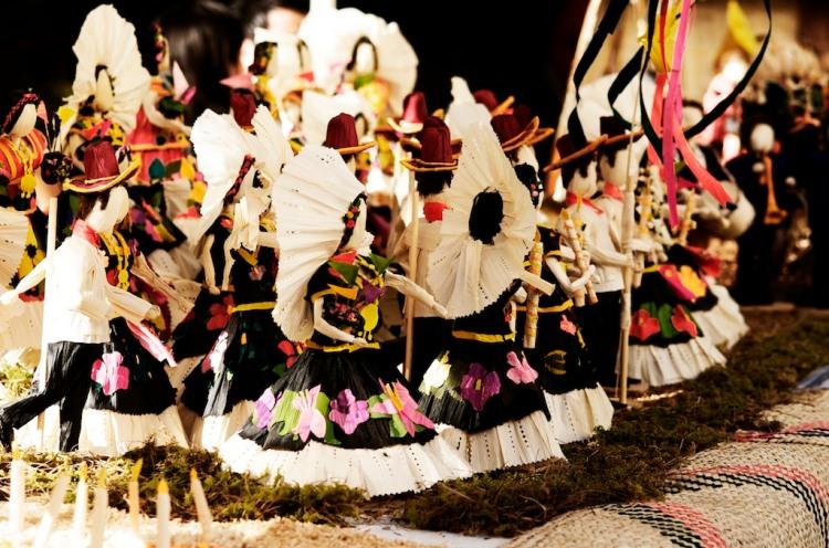 Noche de rábanos en Oaxaca